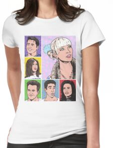 Friends Tv Show Womens Fitted T-Shirt