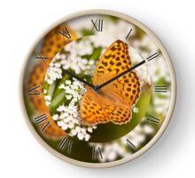 Argynnis paphia butterfly beauty Clock