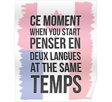 Thinking in Deux (Canuck Version) Poster