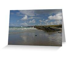 Dunfanaghy Beach Greeting Card