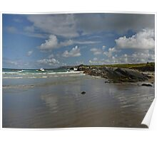 Dunfanaghy Beach Poster