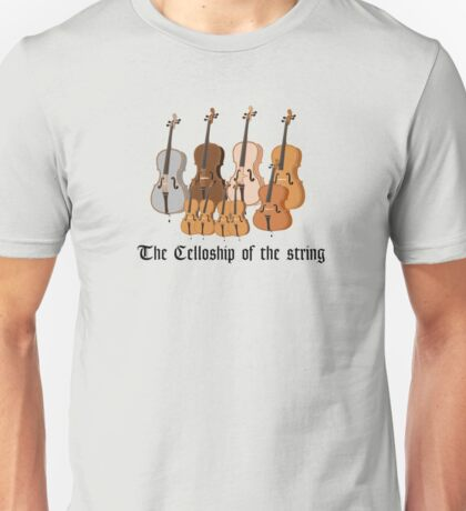 The Celloship of the String Unisex T-Shirt