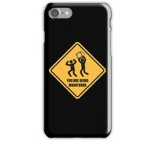 You Are Being Monitored iPhone Case/Skin