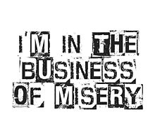 Misery Business by Tom Gregory