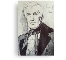 Vincent Price House of Usher Canvas Print