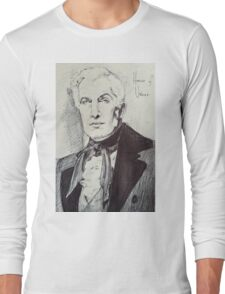 Vincent Price House of Usher Long Sleeve T-Shirt
