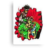 Kunoichi Hunter vs Raksha Canvas Print