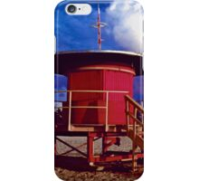 Jetson's Lifeguard Stand iPhone Case/Skin