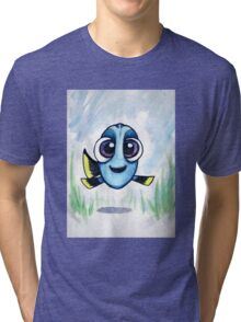 Baby Dory- Finding Dory Movie Tri-blend T-Shirt