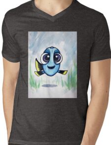 Baby Dory- Finding Dory Movie Mens V-Neck T-Shirt