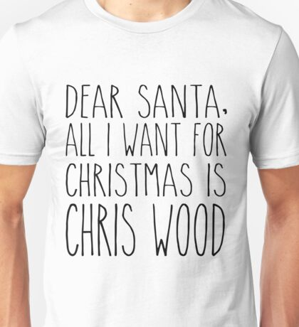 Chris Wood XMas Unisex T-Shirt