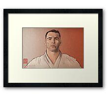 Braulio Estima Portrait Framed Print