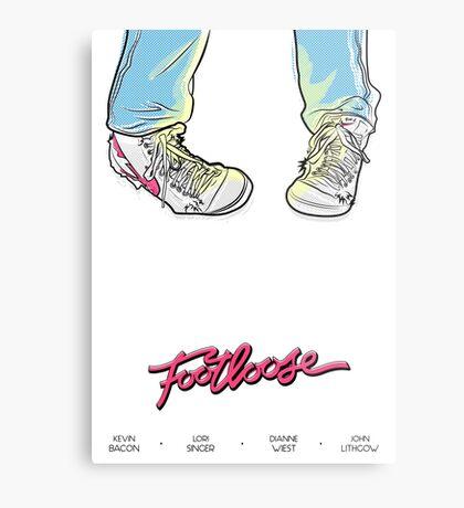 Footloose! Metal Print
