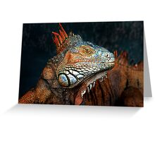 Prehistoric Beauty Greeting Card