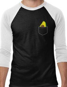 Pocket Avocado Men's Baseball ¾ T-Shirt