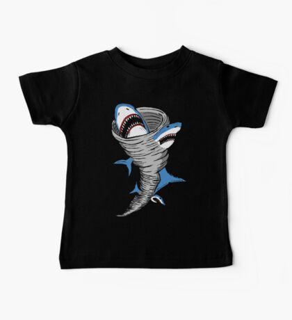 Shark Tornado Baby Tee