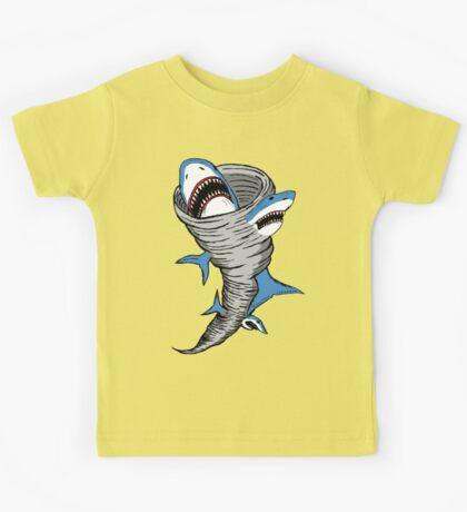 Shark Tornado Kids Tee