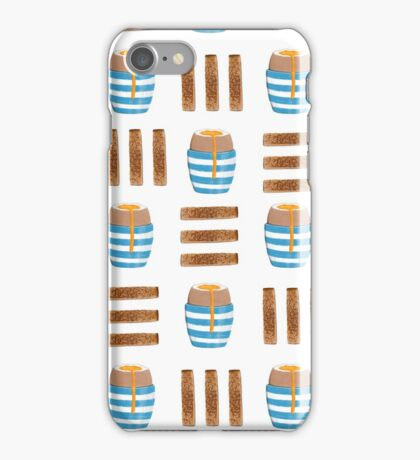 Boiled Eggs and Toast iPhone Case/Skin