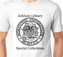 Miskatonic University - Arkham Library Special Collections Unisex T-Shirt