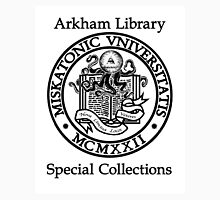Miskatonic University - Arkham Library Special Collections Unisex T-Shirt