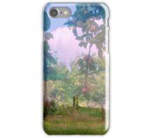 Glastonbury Tor Apples collage iPhone Case/Skin