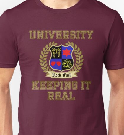 NSP University of Keeping it Real  Unisex T-Shirt