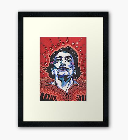Salvador Dali II Framed Print