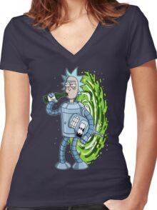 Bender's Secret II Women's Fitted V-Neck T-Shirt