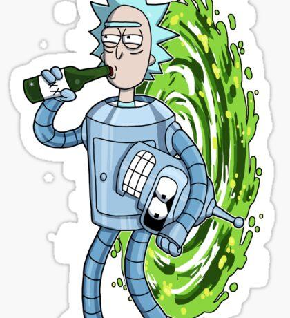 Bender's Secret II Sticker