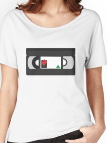 VHS Classic (white) Women's Relaxed Fit T-Shirt