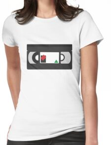 VHS Classic (white) Womens Fitted T-Shirt