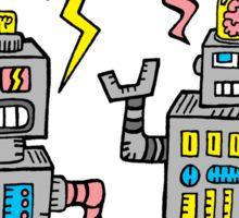 Robot Talk Sticker