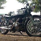 Triton Motorcycle by Tony Dewey