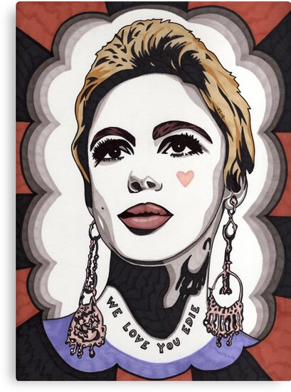 We Love You Edie by Angelique  Moselle