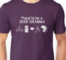 Proud To Be A Geek Gramma Unisex T-Shirt