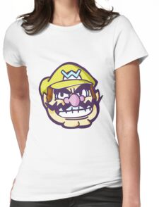 Grinning Wario Womens Fitted T-Shirt