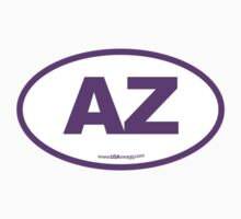Arizona AZ Euro Oval PURPLE by USAswagg