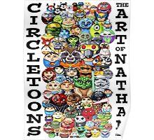 CircleToon Collage Poster