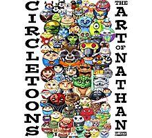 CircleToon Collage Photographic Print