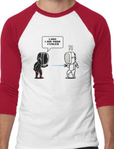Luke.. I Am Your Fencer Men's Baseball ¾ T-Shirt