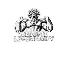 BECOME LEGENDARY- BROLY SUPER SAIYAN Photographic Print