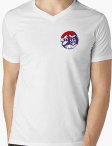 KFC Captain Falcon Small Mens V-Neck T-Shirt