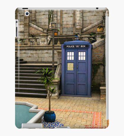 Courtyard Tardis iPad Case/Skin