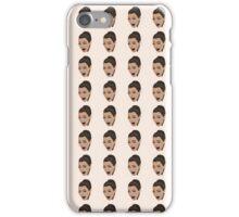 ugly crying kim kardashian iPhone Case/Skin