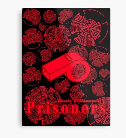 Prisoners Alternative Minimal Movie Design Metal Print