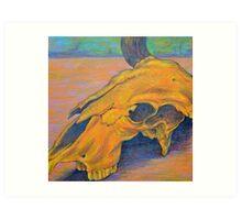 Animal Skull (Bull Skull) South West Art Art Print