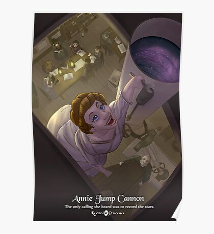 Annie Jump Cannon - Rejected Princesses Poster