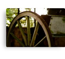 Cart Wheel Colour Canvas Print