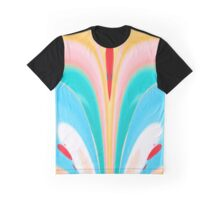 Butterfly Floral Abstract Graphic T-Shirt