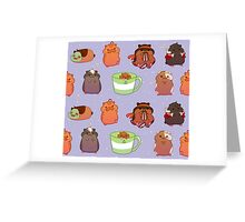 Hamsters of Voltron Greeting Card